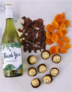 gifts: Personalised Gourmet Thanks Hamper!
