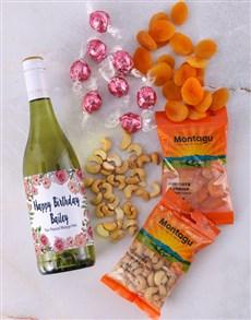 gifts: Personalised Floral Gourmet Birthday Hamper!