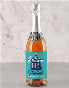 gifts: Personalised Birthday Girl Rietvallei Wine!