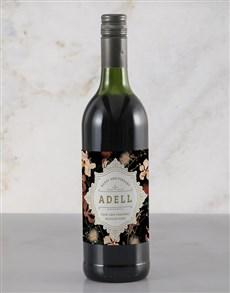 gifts: Personalised Elegant Anniversary Wine!