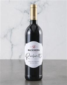 gifts: Personalised Backsberg Wine Bottle!