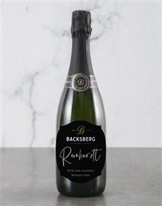 gifts: Personalised Regal Backsberg Wine!