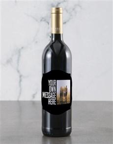 gifts: Personalised Classy Photo Backsberg Wine!