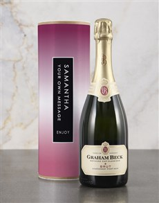 gifts: Personalised Pink Bubbly Tube!