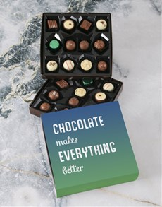 gifts: Personalised Get Well Soon Double Choc Tray!