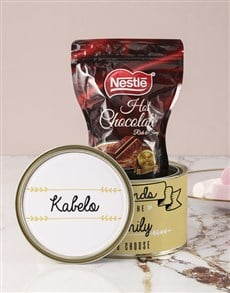 gifts: Personalised Friendship Hot Choc Tin!