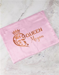 gifts: Personalised Queen Pink Pillowcase!