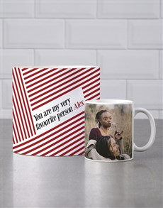 gifts: Personalised Favourite Person Mug Tube!