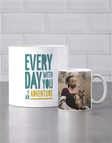 gifts: Personalised Youre An Adventure Mug Tube!