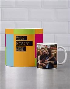 gifts: Personalised Colourful Mug Tube!