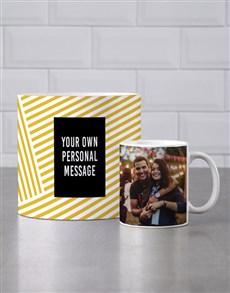 gifts: Personalised Golden Mug Tube!