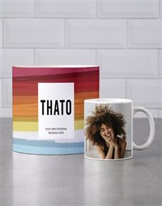 gifts: Personalised Watercolour Mug Tube!
