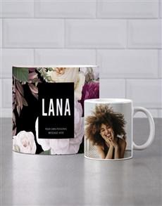 gifts: Personalised Floral Mug Tube!