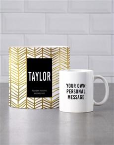 gifts: Personalised Cheerful Mug Tube!