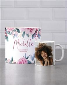 gifts: Personalised Rose Garden Mug Tube!