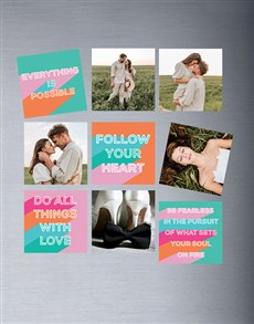 gifts: Personalised Encouragement Magnets !