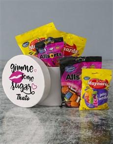 gifts: Personalised Sugar For A Sugar Hatbox!