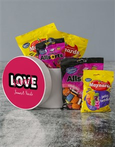 gifts: Personalised Sweet Love Hatbox!