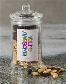 gifts: Personalised Youre Awesome Mixed Jar!