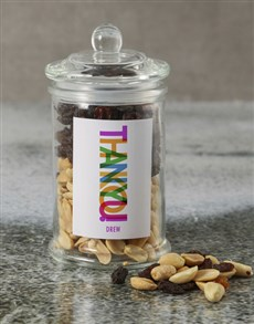 gifts: Personalised Thank You Mixed Jar!
