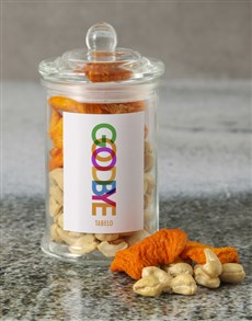 gifts: Personalised Goodbye Mixed Jar!