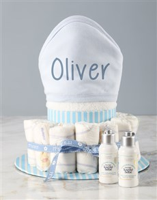 gifts: Personalised LOccitane Baby Boy Bath Set !