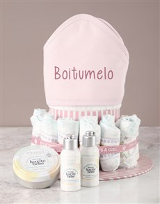 gifts: Personalised LOccitane Baby Girl Bath Set!