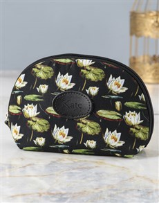 gifts: Personalised Lovely Lilies Cosmetic Bag!