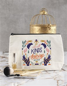 gifts: Personalised Amazing Cosmetic Bag!