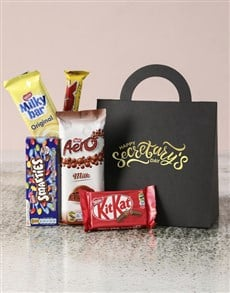 gifts: Personalised Secretarys Day Choc Handbag!