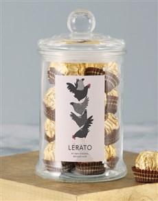 gifts: Personalised Beautiful Bird Ferrero Jar!