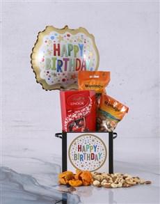 gifts: Personalised Happy Birthday Balloon Hamper!