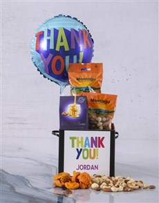 gifts: Personalised Thank You Balloon Hamper!