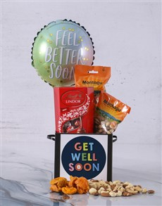 gifts: Personalised Get Well Soon Balloon Hamper!