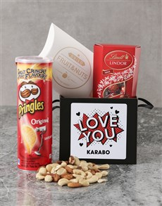 gifts: Personalised Love You Pop Art Box!