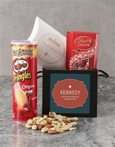 gifts: Personalised Retro Sign Gourmet Box!