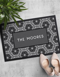 gifts: Personalised Patterned Surname Doormat!