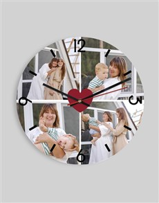 gifts: Personalised Loving Collage Clock!