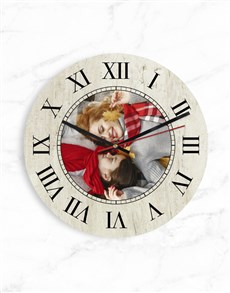 gifts: Personalised Roman Numerals Clock!