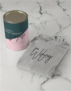 gifts: Personalised Wifey Hoodie!