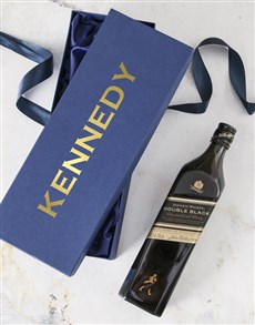gifts: Personalised Johnnie Walker Blue Gift Box!