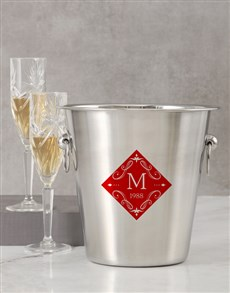 gifts: Personalised Name And Year Date Ice Bucket!