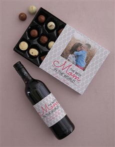 gifts: Personalised Photo Mom Choc Tray!