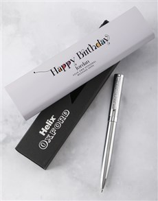 gifts: Personalised Happy Birthday Pen Set!