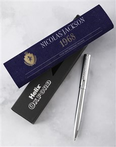 gifts: Personalised Coat Of Arms Pen Set!
