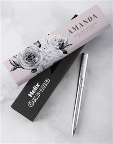 gifts: Personalised Floral Fantasy Pen Set!
