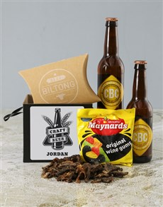 gifts: Personalised Blissful Beer Box!