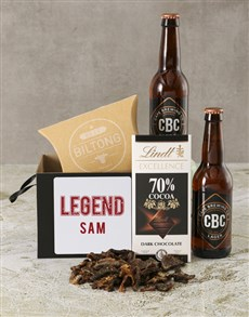 gifts: Personalised Legend Beer Box!