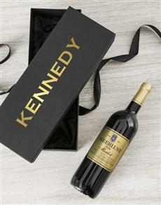 gifts: Personalised Wondrous Wine Gift Box!