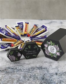 gifts: Personalised Get Well Cadbury Surprise Box !